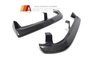 Carbon Fibre DAMD Style Rear Bumper Extensions fit for Mitsubishi EVO 4 5 6 CP9A