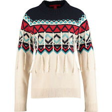 HILFIGER COLLECTION Fringed  Wool & Cashmere Blend Jumper Size X-Large BNWT