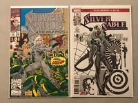 SILVER SABLE #1 foil embossed cover 1992 wild pack #36 MARVEL LEGACY 2018