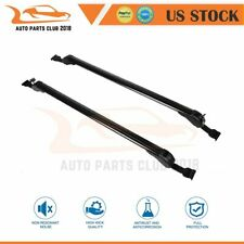 """2Pcs Fit For 43.3""""Universal car Black Top Roof Rack Cross Bars Luggage Cargo Kit"""