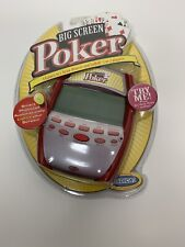 Radica Big Screen Poker 3 in 1 Electronic Handheld Game 2005 NEW SEALED *READ*