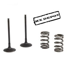 PROX STEEL INLET VALVES & SPRINGS KIT for HONDA CRF450 2002 - 2008    SIS1403-2
