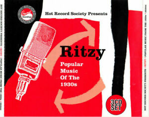 VARIOUS ARTISTS - RITZY (CD) POPULAR MUSIC OF THE 1930's - NEW - 3 CD SET