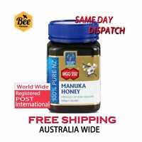 Manuka Health MGO 550+ 500 g Manuka Honey - 100% Pure New Zealand
