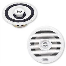 Clarion marine audio cm1625 altavoces 16,5 cm boxeo speaker Weiss Boot Yacht