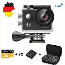 Sport Aktion Kamera Action Cam Camera 4K WiFi mit 32G Micro SD Karte Sports Cam