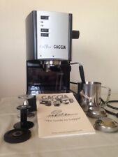Gaggia Coffee Espresso Machine With Accessories & Manual