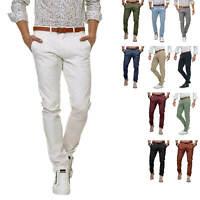Selected Herren Business Chino Hose Chinos Regular Stil Jeanshose Stoffhose %