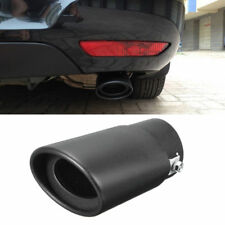 Universal 63mm Car SUV Exhaust Pipe Tip Tail Muffler 304 Stainless Steel Styling