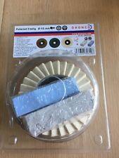 DRONCO Polishing Kit 5piece Flap Disk kit 115mm for angle grinder
