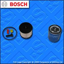 KIT Di Servizio Per PEUGEOT 307 2.0 HDI 8v Filtro Olio Carburante TECAFILTRES (2002-2005)