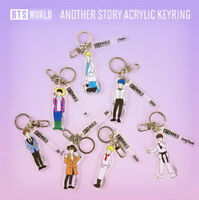 BTS WORLD Another Story Acrylic Keyring Keychain 7types Authentic K-POP Goods