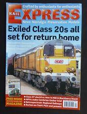 Rail Express, April 2005, Class 87 Electrics, Regional Railways Retrospectrum
