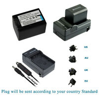 NP-FV70 Battery for Sony BC-TRP NP-FV30 NP-FV100 NP-FV50 XR350E + AC/DC Charger
