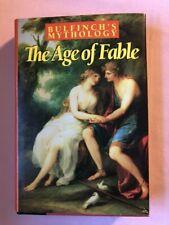 Vtg 1968 Bulfinch'S Mythology The Age of Fable Hbdj Book Club Ed Ancient Greece