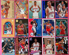 15 Allen Iverson Cards Including 15 Rookies + 1996-97 Topps Fleer -