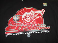 2002 Stanley Cup Champions DETROIT RED WINGS (3XL) T-Shirt w/ Tags STEVE YZERMAN