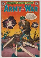 Our Army At War #1 VG+ 4.5 DC War Gil Kane Art First Issue 1952!