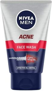 NIVEA Men Acne Face Wash for Oily & Acne Prone Skin 100 g pack of 1