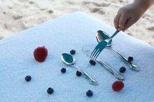 Troyka 4-piece Kids Flatware Cutlery Set, Service for 1