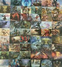 1x  1x Modern Horizons Art Set Complete (54 Cards) Near Mint Complete Sets - Mag