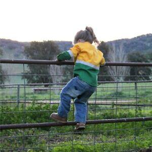 Kids Hi Vis Work Shirts - Yellow & Green - Farm Safety High Visibility Clothing
