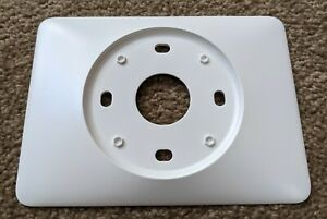 Nest 3rd Generation Thermostat White Wall Cover Plate