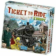Ticket to Ride - Europe Board Game (New Edition,2018)