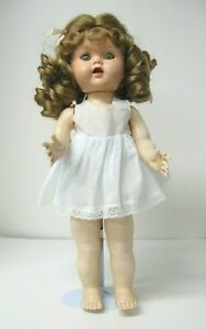 """Vintage Styled All-in-one Doll Chemise Slip fits 16"""" Saucy Walker, Pedigree Doll"""