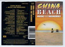 CHINA BEACH - MUSIC AND MEMORIES - VARIOUS ARTISTS  *RARE CASSETTE TAPE*