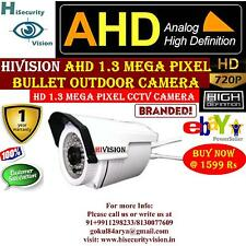 HiVision 1.3MP HD CCTV Camera with 20 Mtr. Night Vision Bullet (Outdoor)