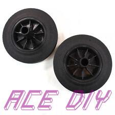 More details for wheelie bin replacement wheels   wheely bins black cushion rubber tyre wheel