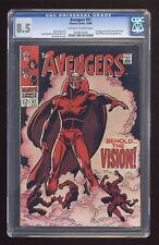 Avengers (1st Series) #57 1968 CGC 8.5 0258672002