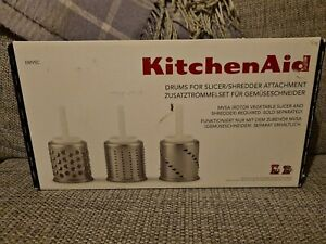 Official KitchenAid Drums for Slicer/shredder Attachment mixer. New in box