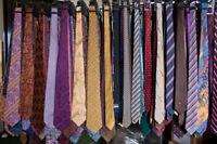 NEW Men's Designer Neckties Ties Lot *FREE SHIPPING* NWOT WHOLESALE SILK