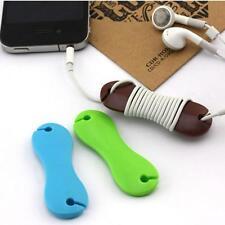 Fishbone Cable Organizer Plastic Headphone Earphone Cable Organizer Winder