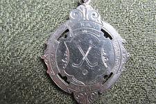Royal artillería Hockey Torneo 1917 Silver Medal. Corp. Barham RFA. WW1