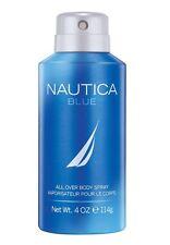 Nautica Blue Body Spray, Blue, 4 Fl Oz
