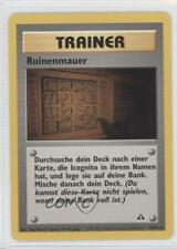 2001 Pokemon Neo Discovery Booster Pack Base German #74 Ruin Wall Card 1l2