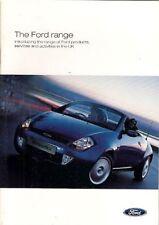 Ford 2002 2003 Brochure Rallye Sport Football Ka Fiesta Fusion Focus RS Mondeo