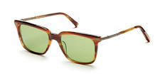 Authentic Dita Cooper 18K Gold Sunglasses Amber / Vintage Green *NEW* 53mm