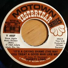 Shorty Long 45 It's A Crying Shame / Devil With The Blue Dress reissue