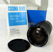 Cosina 28-210mm F3.5-F5.6 Macro Zoom Looks clean within and throughout