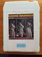 Dionne Warwick In Paris. 8-track, serviced
