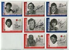 2009-10 ITG 1972 The Year In Hockey Autographs  #AYC Yvan Cournoyer SP