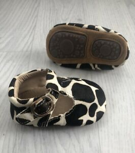 Baby Girl Cow Print Shoes 6-12 Months