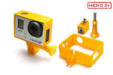 Frame Mount Tripod Mount f. GoPro HD HERO 3+ Black Zubehör Stativ Adapter Orange