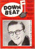 1955 Down Beat January 26 - Oscar Celestin,Pete Candoli