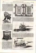 1862 Cranston's Woods Grass Mowing Machine Coalbrookdale's Chair