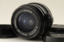 【C Normal】 MINOLTA M ROKKOR 28mm f/2.8 MF Lens for Leica CL CLE From JAPAN #2740